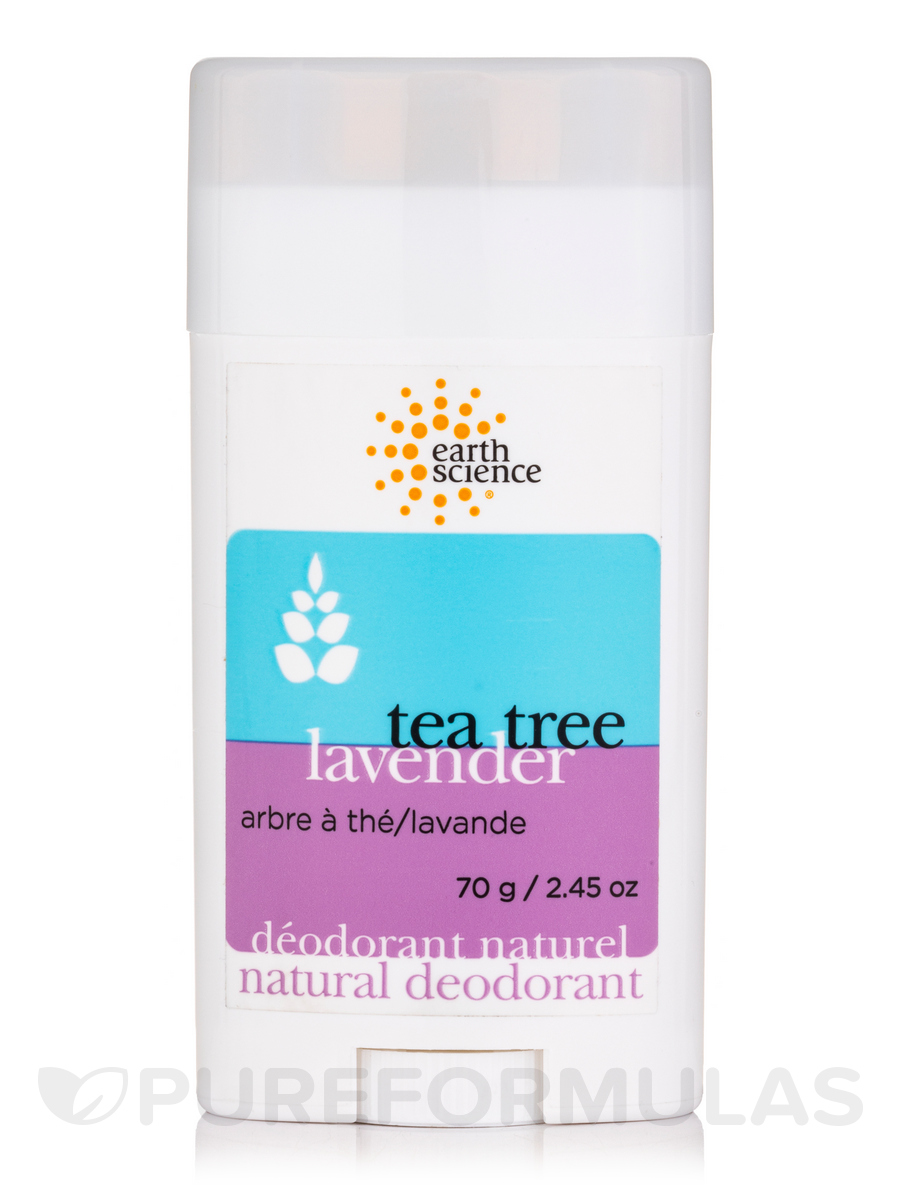 Deodorant Tea Tree & Lavender - 2.45 oz (70 Grams)