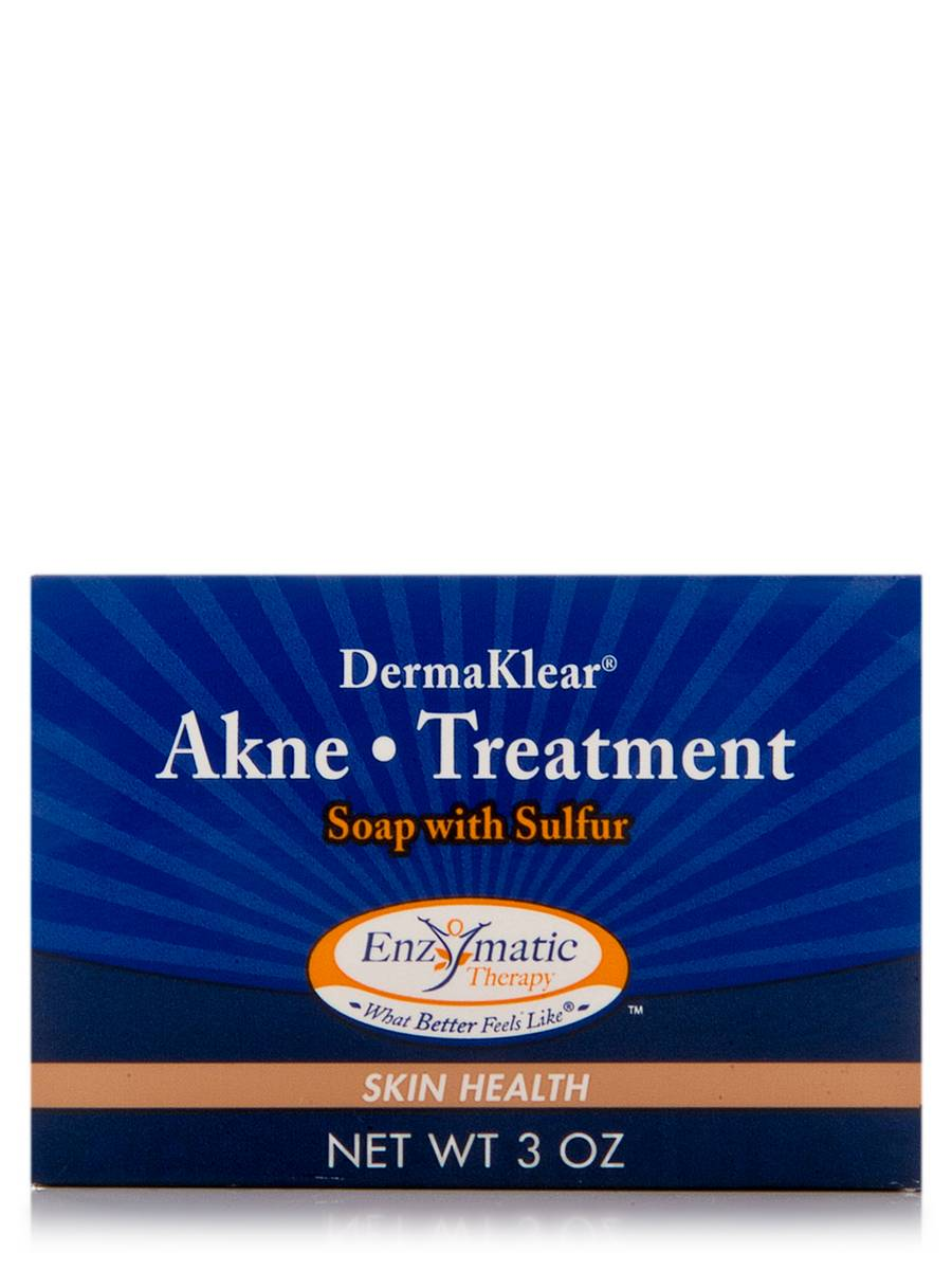 Derma Klear Akne Treatment Soap with Sulfur - 3 oz