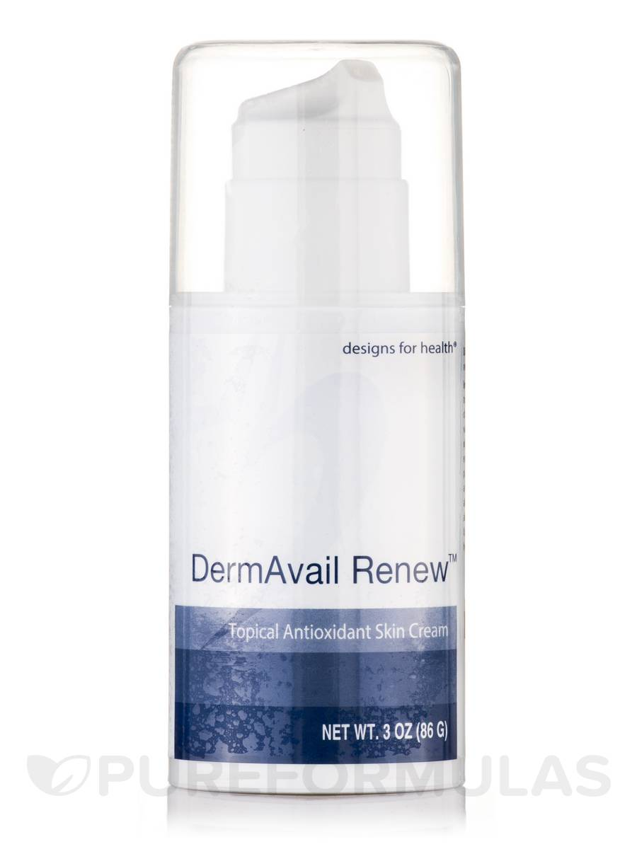 Dermavail renew topical antioxidant skin cream 3 oz 86 for Renew home designs reviews
