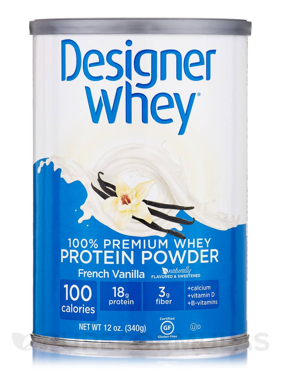 Designer Whey Protein Powder French Vanilla - 12 oz (340 Grams)