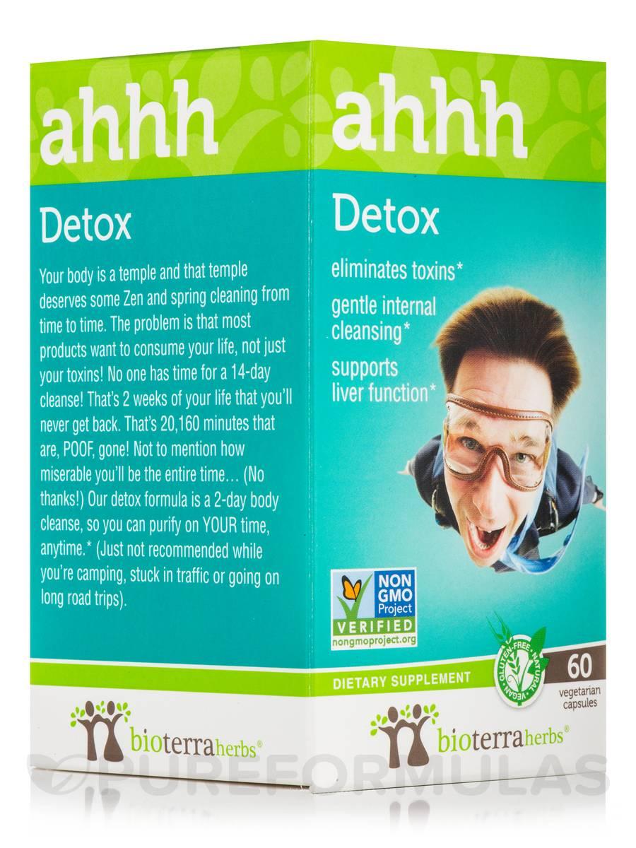 Detox... ahhh - 60 Vegetarian Capsules