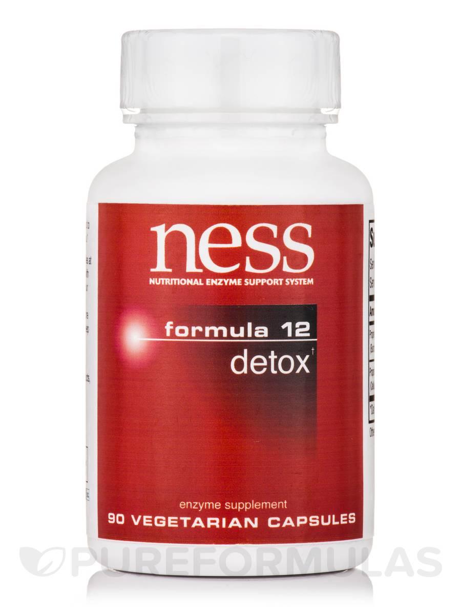 Detox (Formula 12) - 90 Vegetarian Capsules