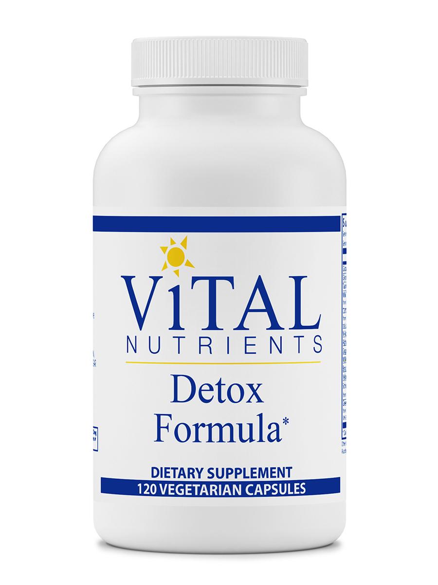 Detox Formula - 120 Vegetable Capsules