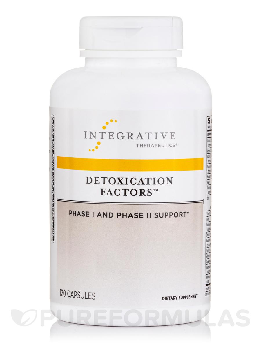 Detoxication Factors™ - 120 Capsules