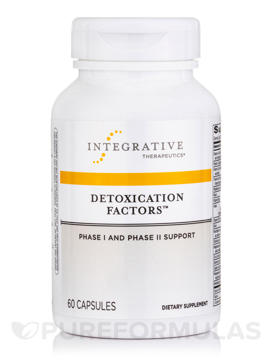 Detoxication Factors™ - 60 Capsules