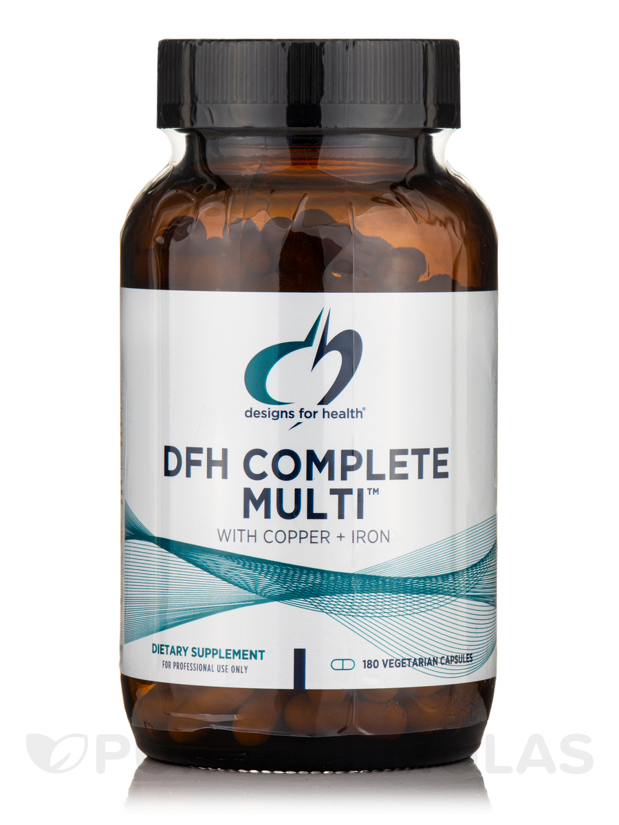 DFH Complete Multi with Copper and Iron - 180 Vegetarian Capsules
