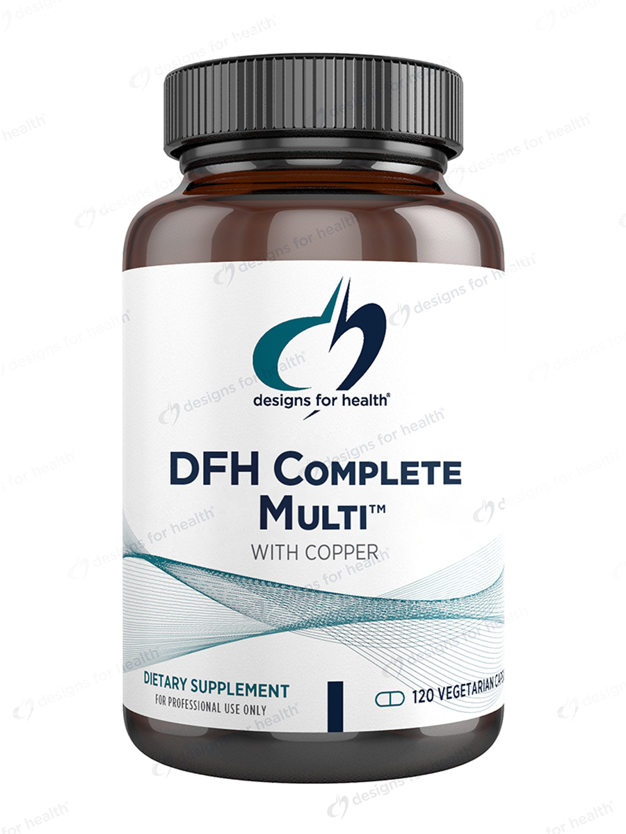 DFH Complete Multi™ with Copper - 120 Vegetarian Capsules
