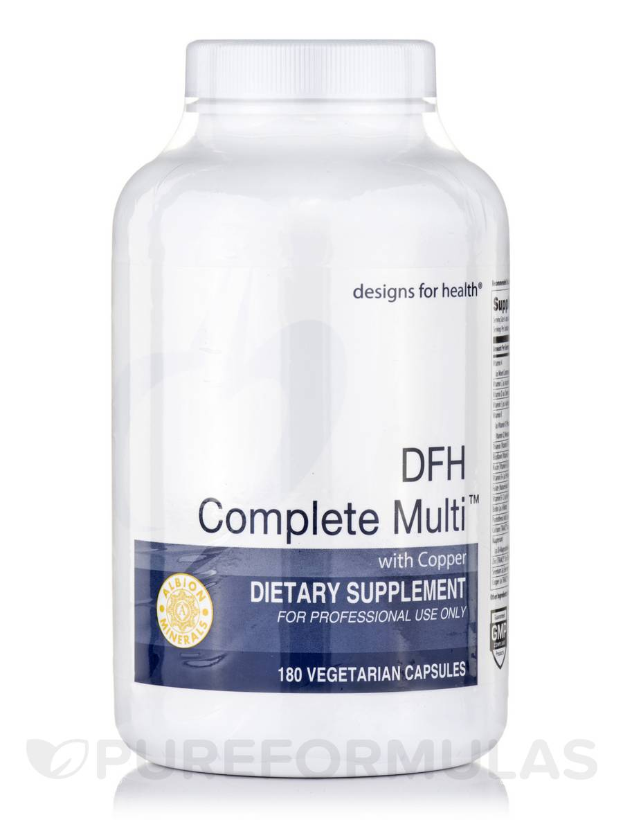 DFH Complete Multi™ with Copper - 180 Vegetarian Capsules