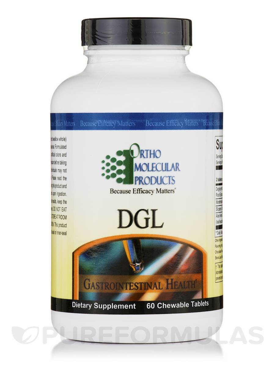 DGL - 60 Chewable Tablets