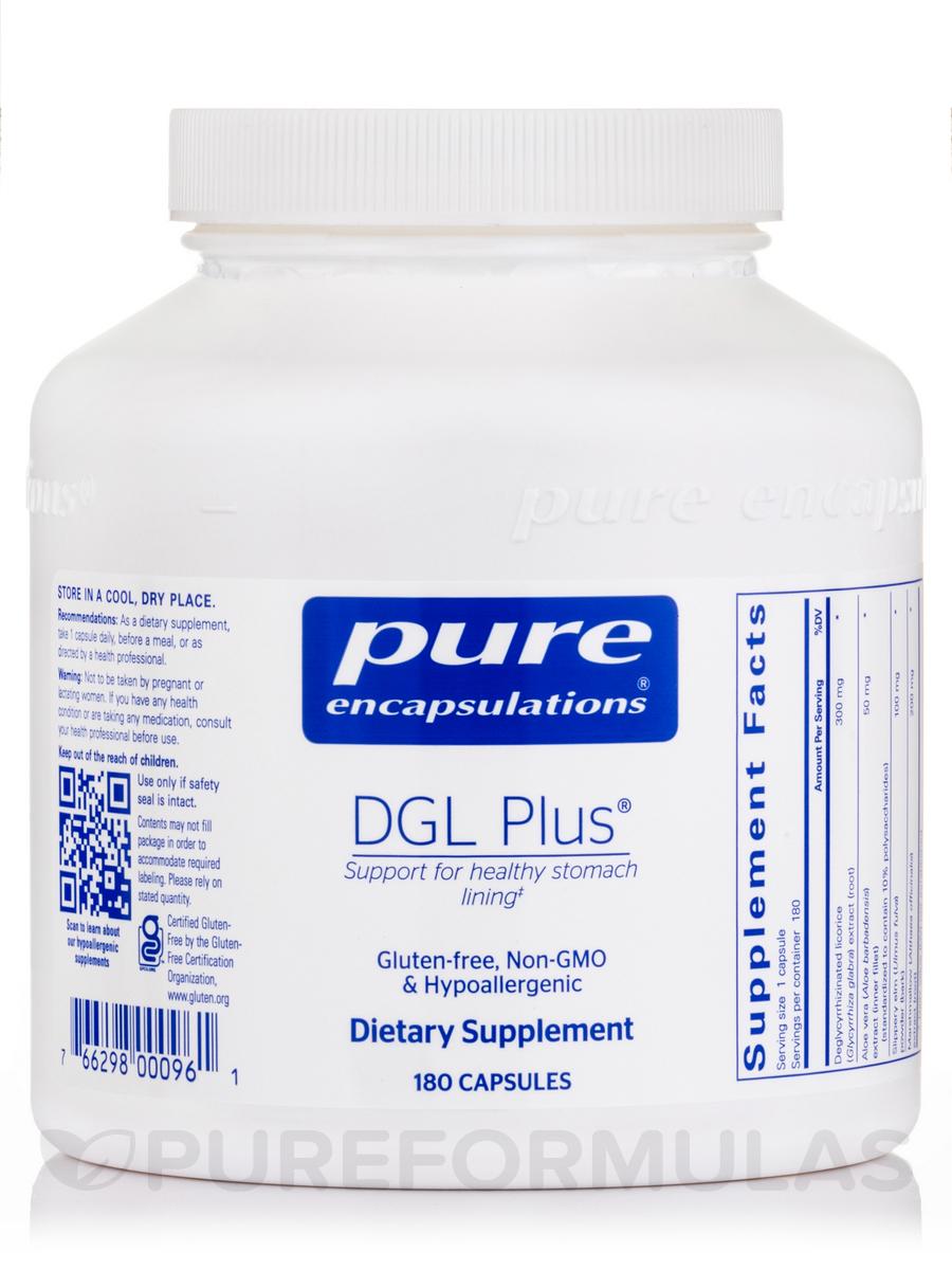 DGL Plus® - 180 Capsules