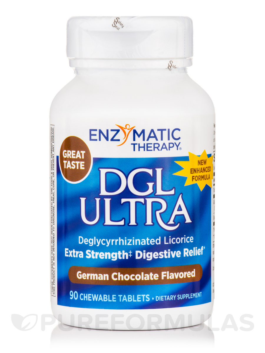 DGL Ultra German Chocolate - 90 Chewable Tablets