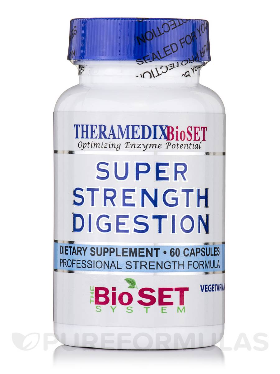 Super Strength Digestion - 60 Vegetarian Capsules