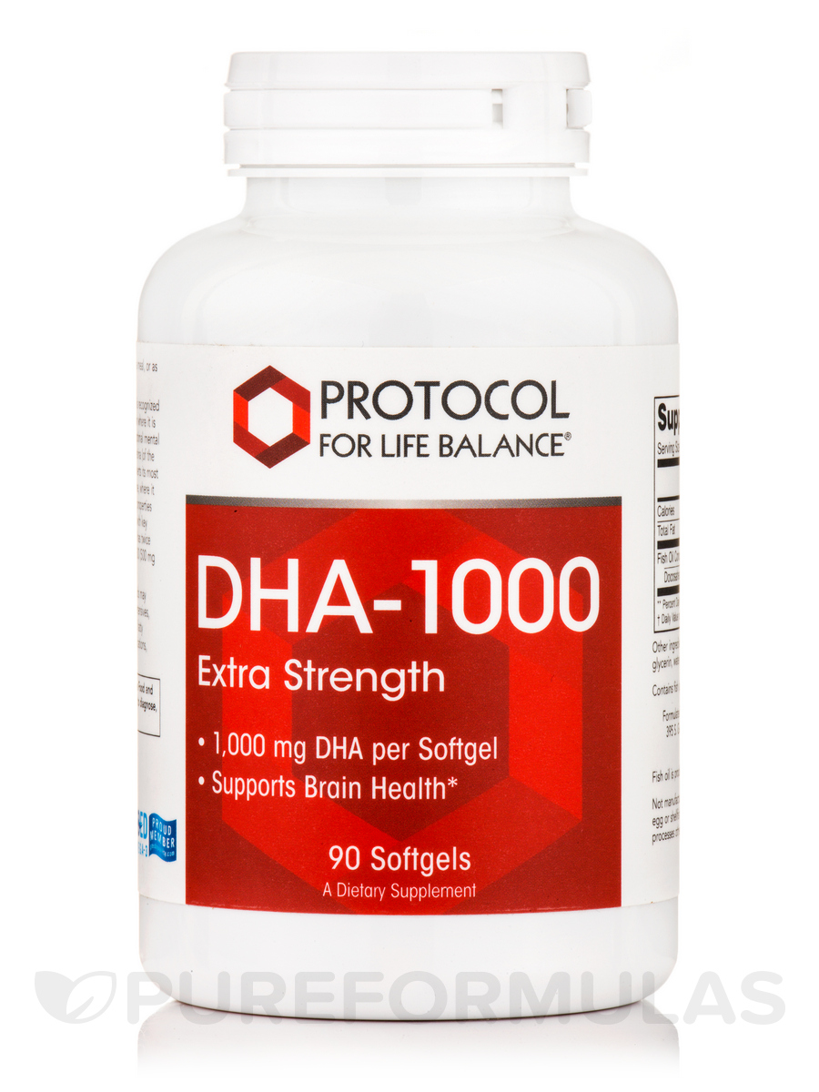 DHA-1000 - 90 Softgels