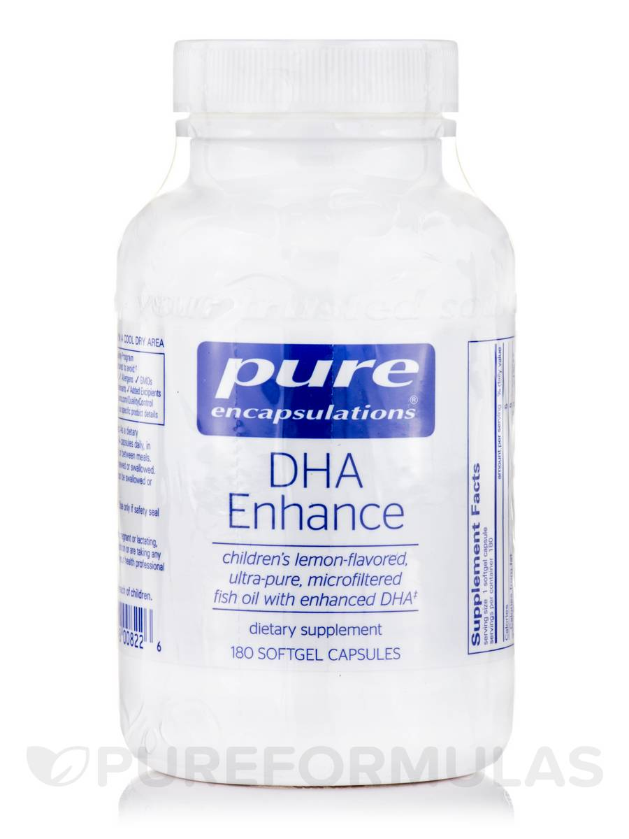 DHA Enhance - 180 Softgel Capsules