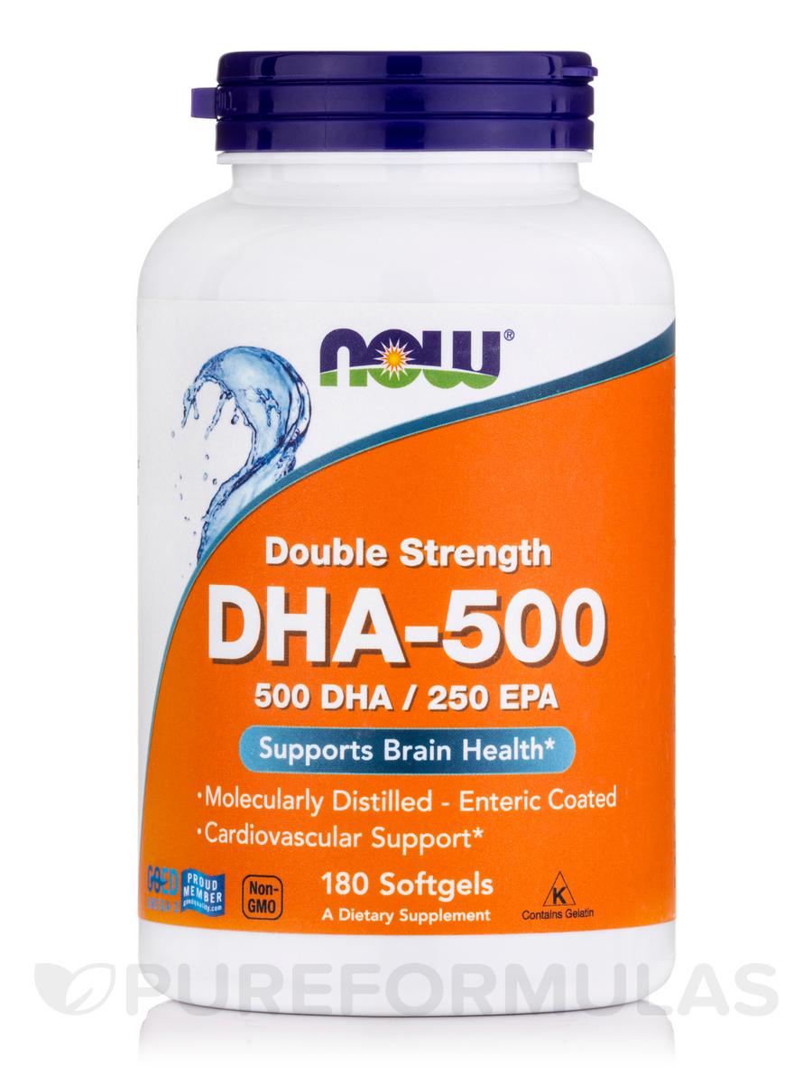 DHA-500 (500 DHA / 250 EPA) - 180 Softgels