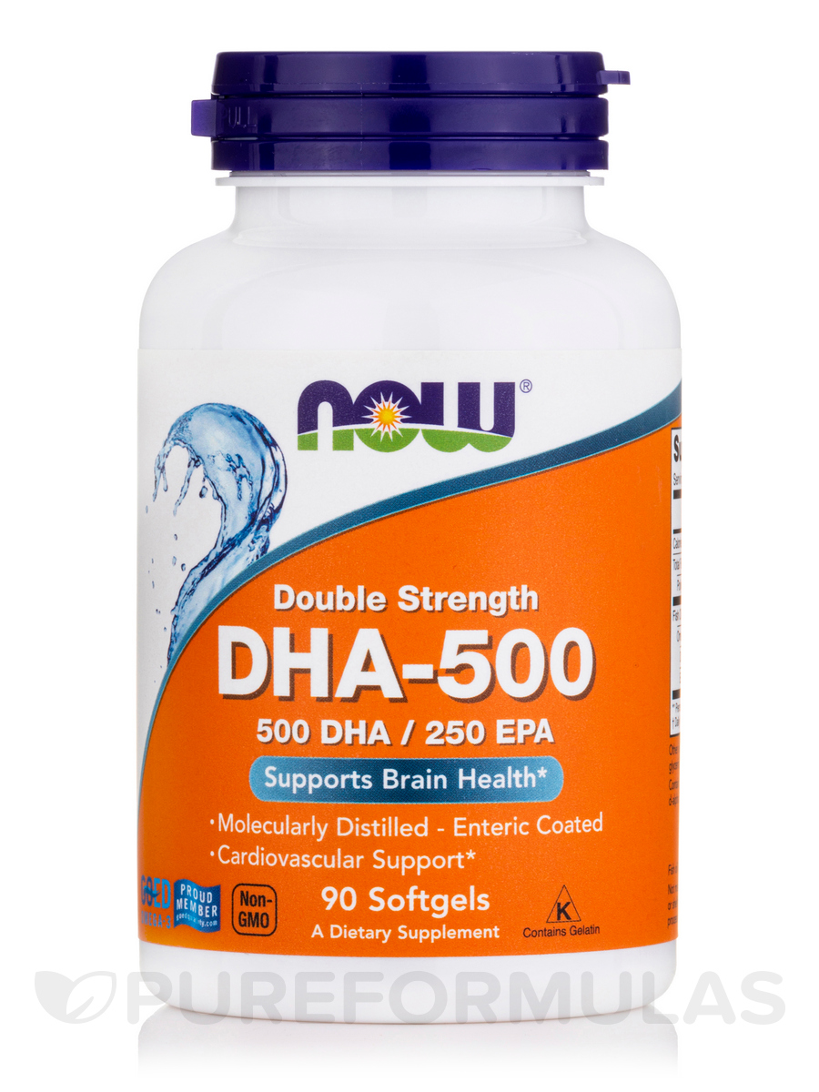 DHA-500 - 90 Softgels