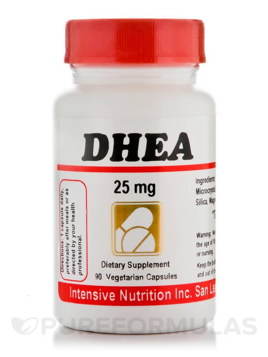 DHEA 25 mg - 90 Vegetarian Capsules
