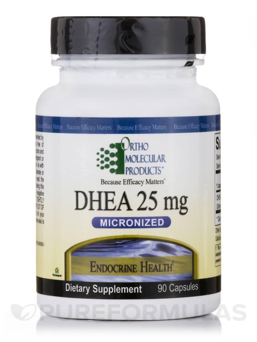 DHEA 25 mg - 90 Capsules