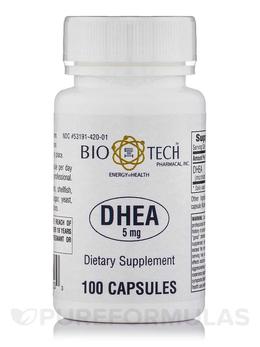 DHEA 5 mg - 100 Capsules