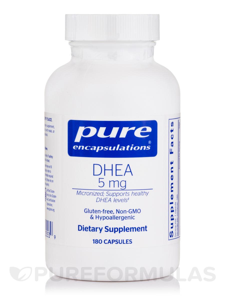 DHEA 5 mg - 180 Capsules