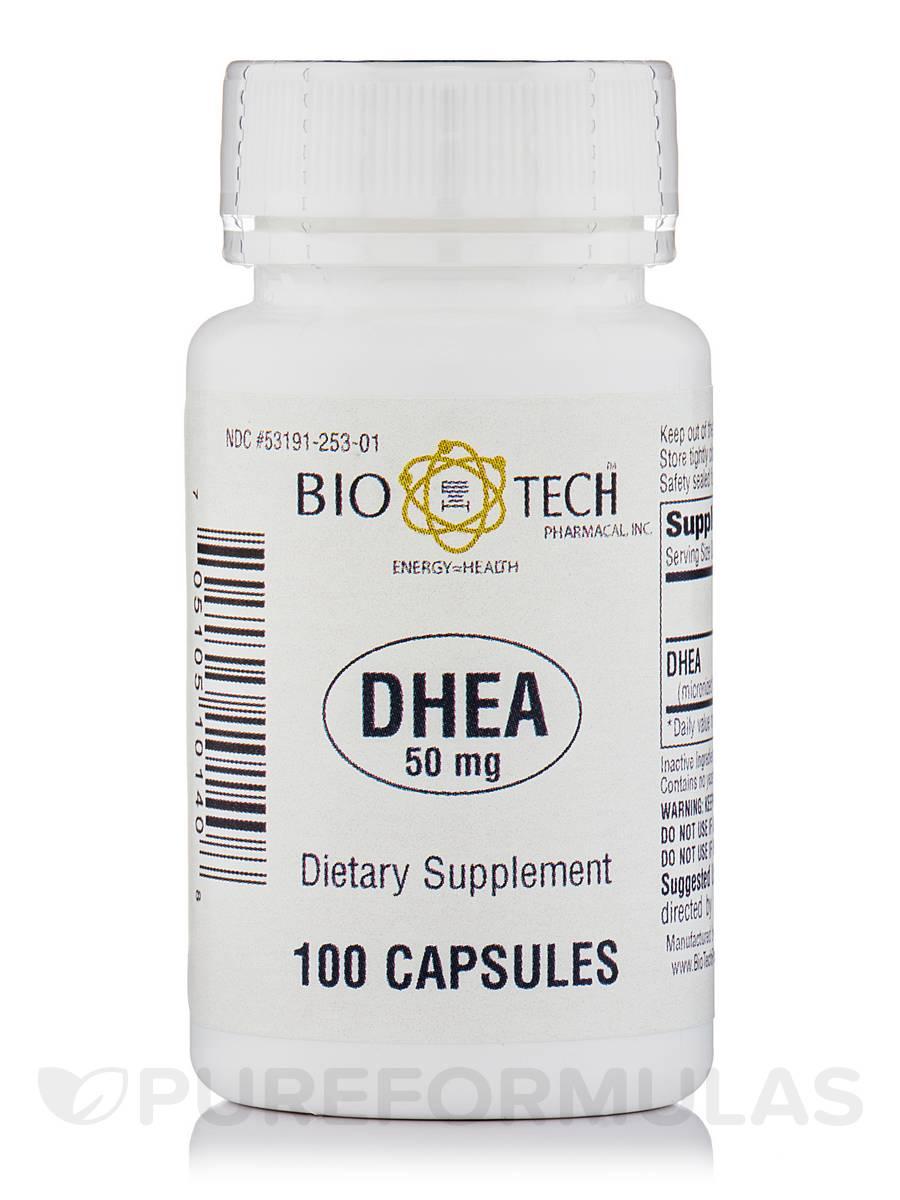 DHEA 50 mg - 100 Capsules