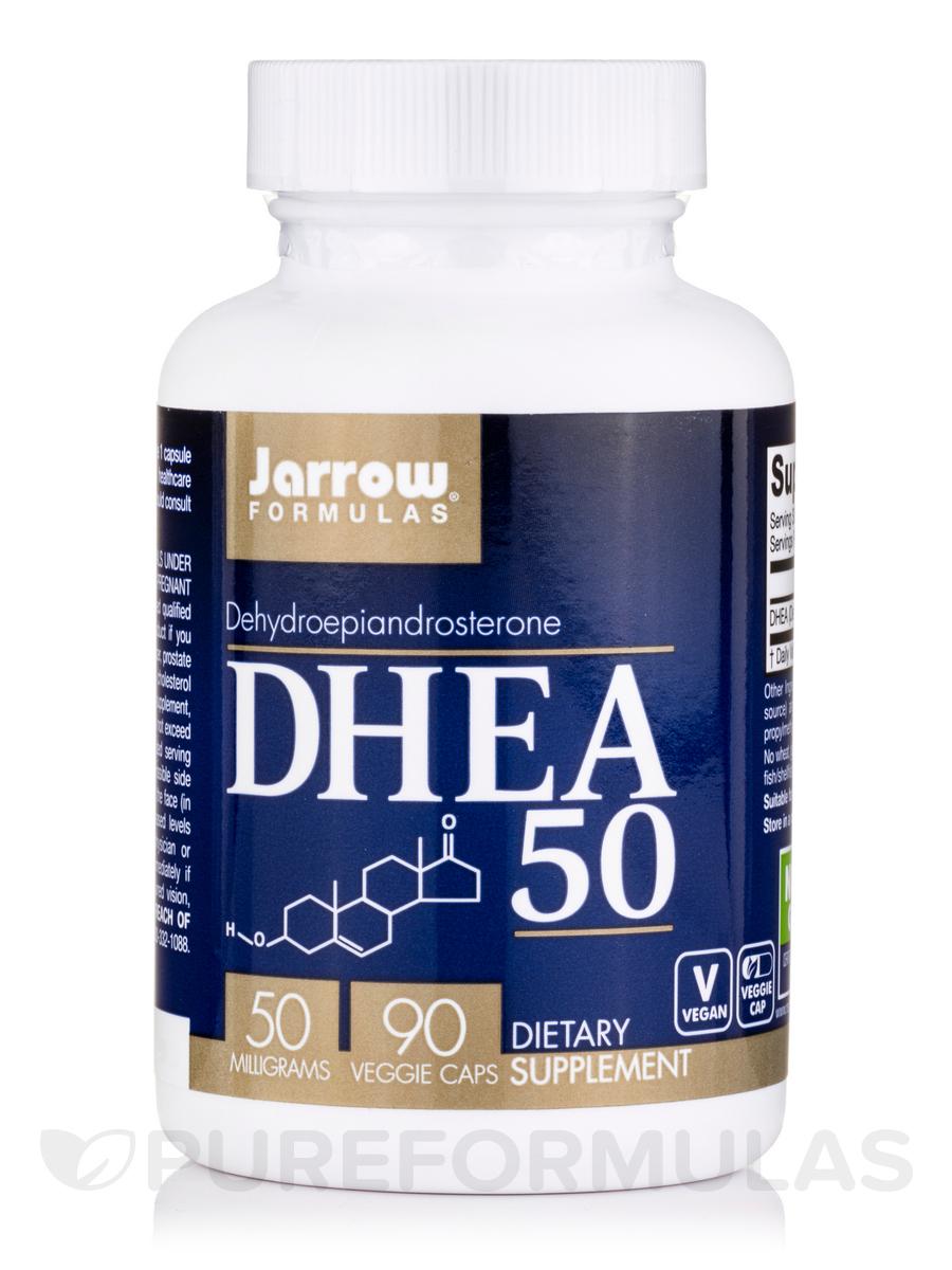 DHEA 50 mg - 90 Capsules