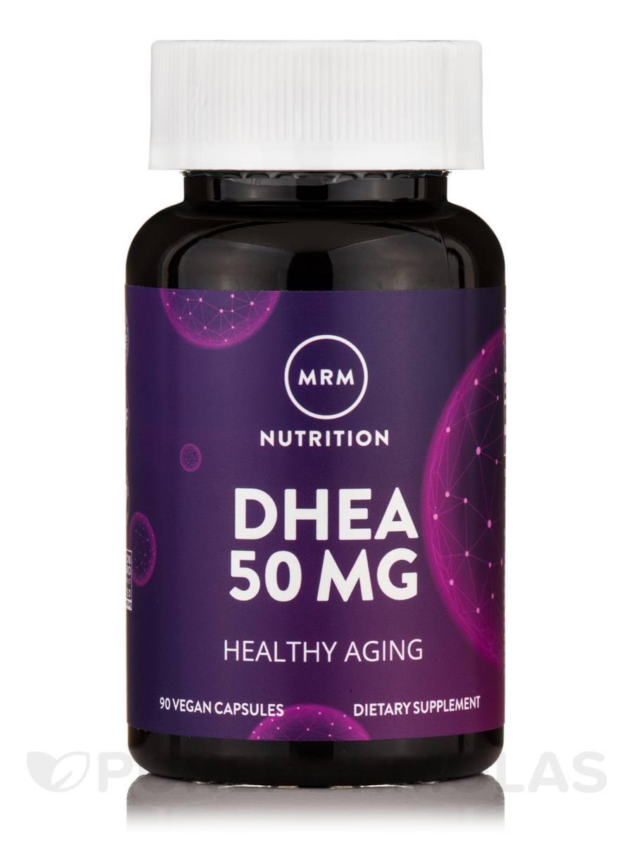 DHEA 50 mg (micronized) - 90 Vegetarian Capsules