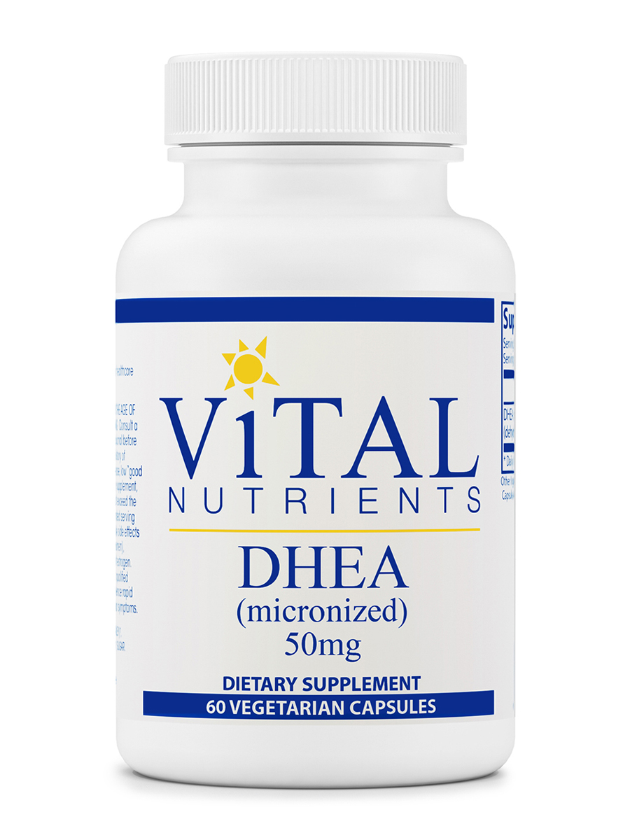 DHEA (Micronized) 50 mg - 60 Capsules