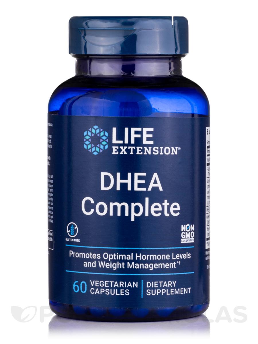 DHEA Complete 100 mg 7-Keto & 25 mg DHEA - 60 Vegetarian Capsules