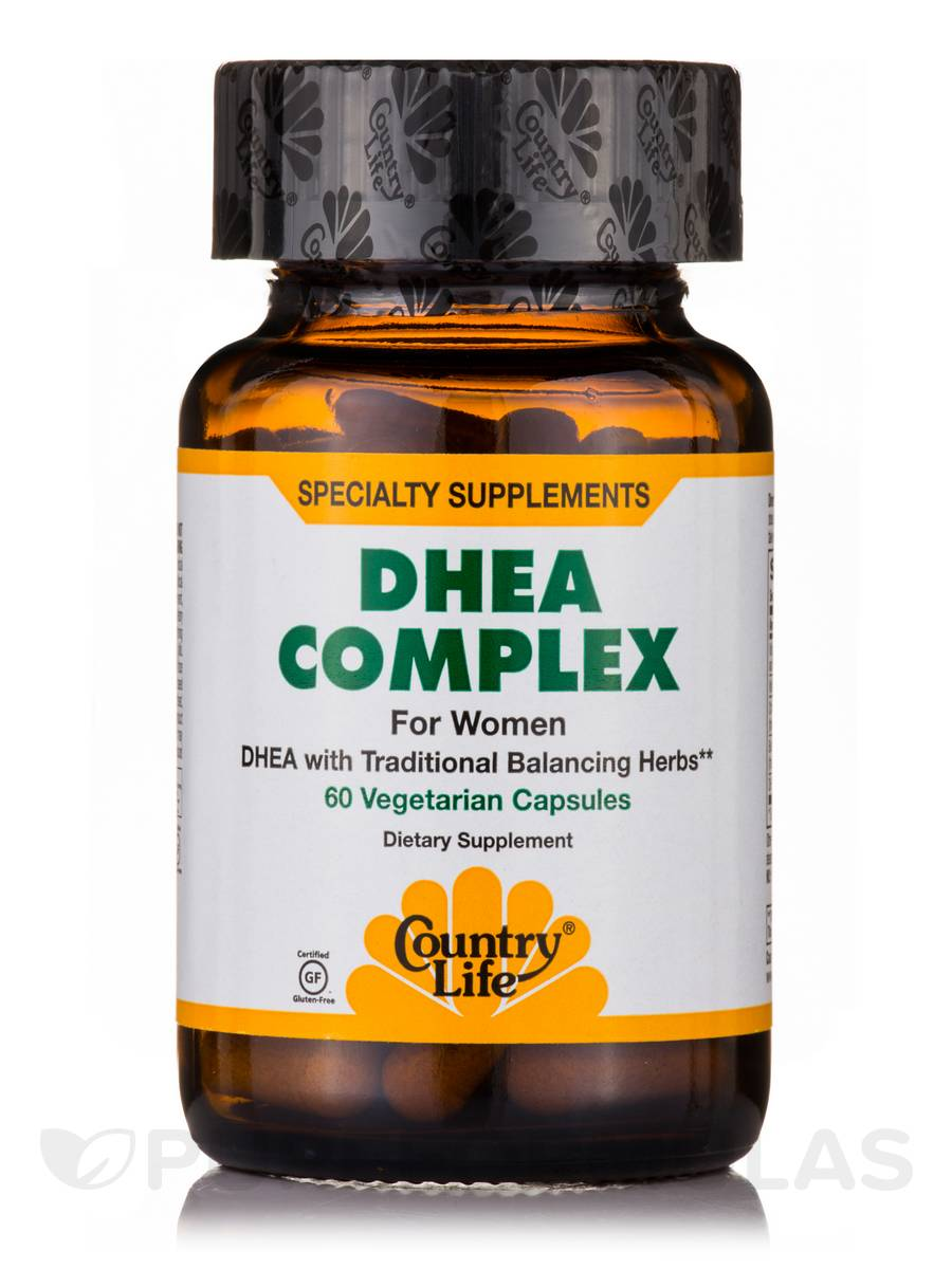 DHEA Complex for Women - 60 Vegetarian Capsules