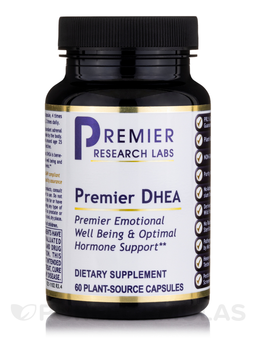 Premier DHEA - 60 Vegetable Capsules