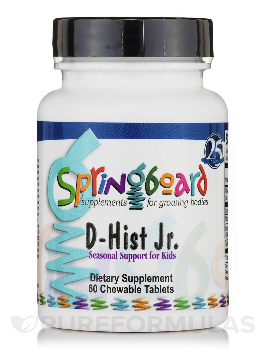 D-Hist Jr. - 60 Chewable Tablets