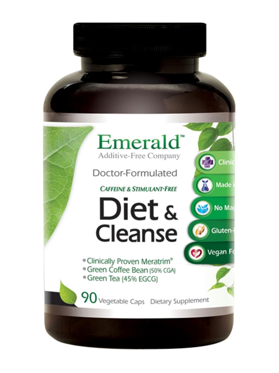 Diet & Cleanse - 90 Vegetable Capsules
