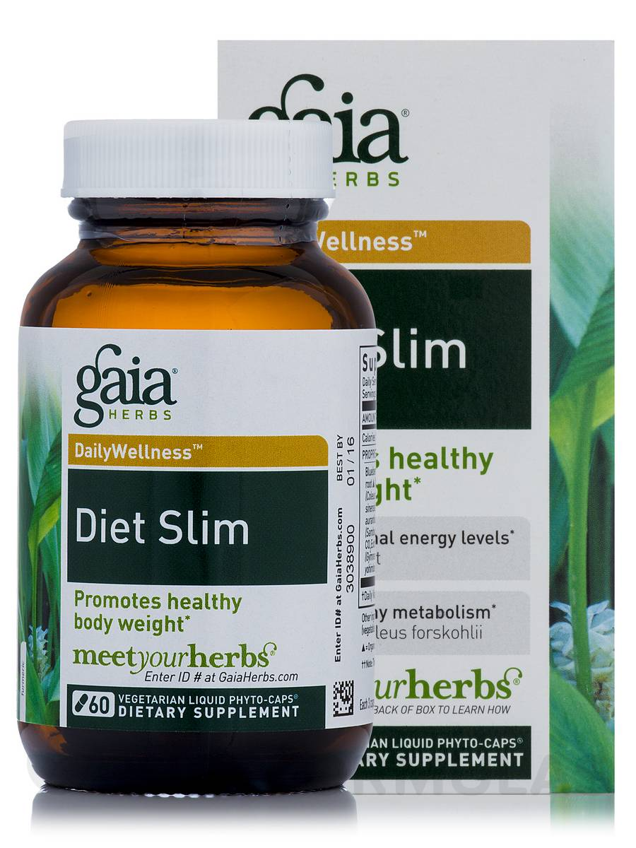 Diet Slim - 60 Vegetarian Liquid Phyto-Caps