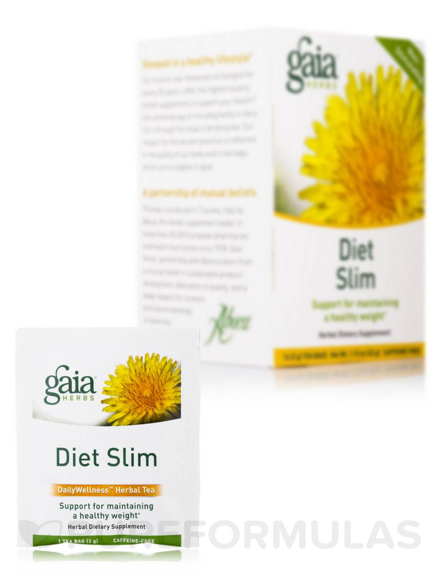 Diet Slim Tea - 16 Tea Bags (1.13 oz / 32 Grams)