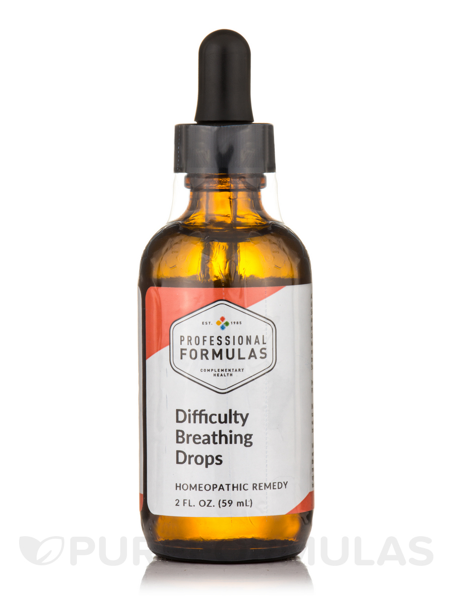 Difficulty Breathing Drops - 2 fl. oz (59 ml)
