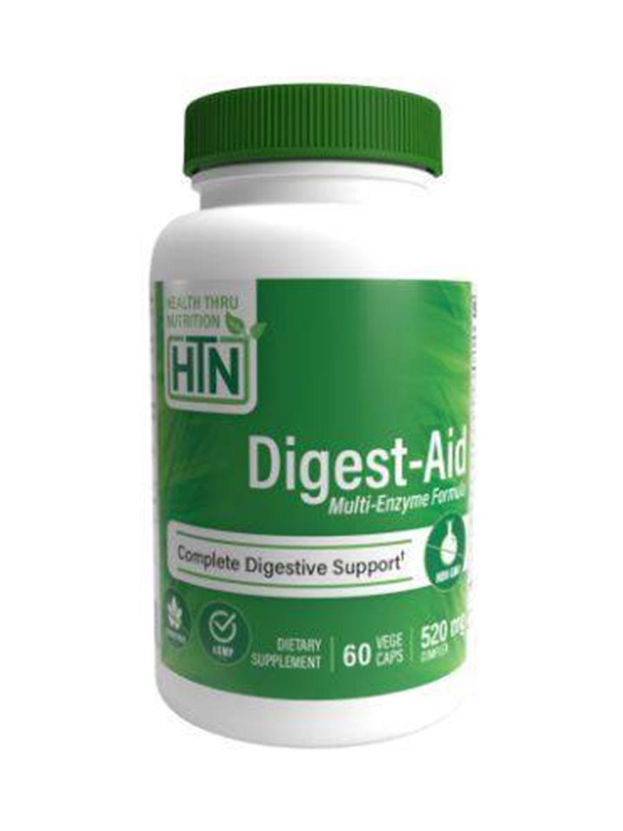 Digest-Aid Multi-Enzyme Formula - 60 VegeCaps