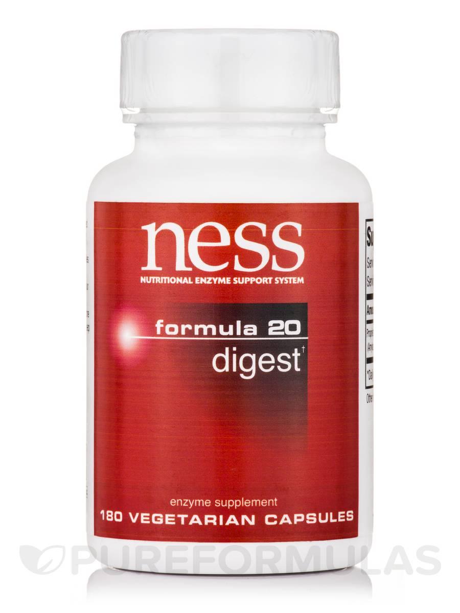 Digest (Formula 20) - 180 Vegetarian Capsules