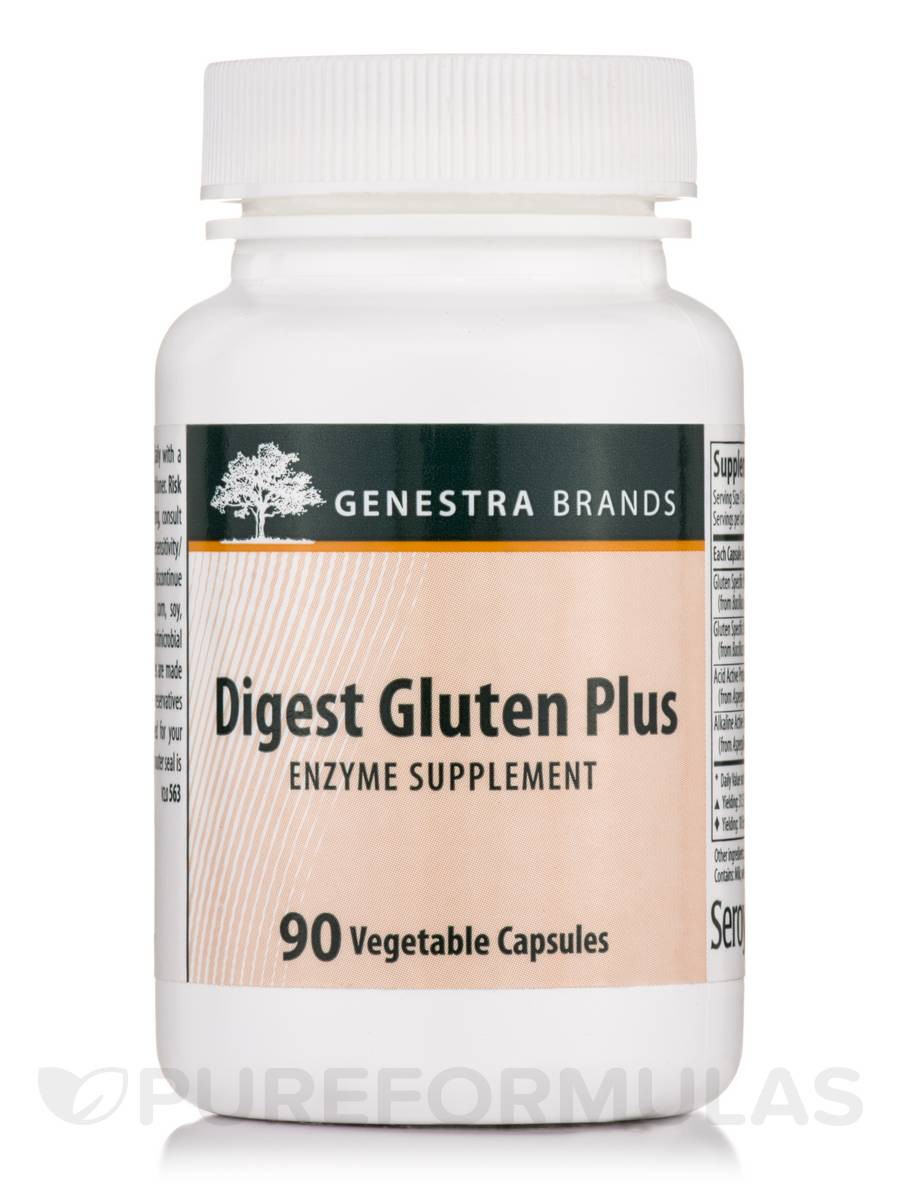 Digest Gluten Plus - 90 Vegetable Capsules