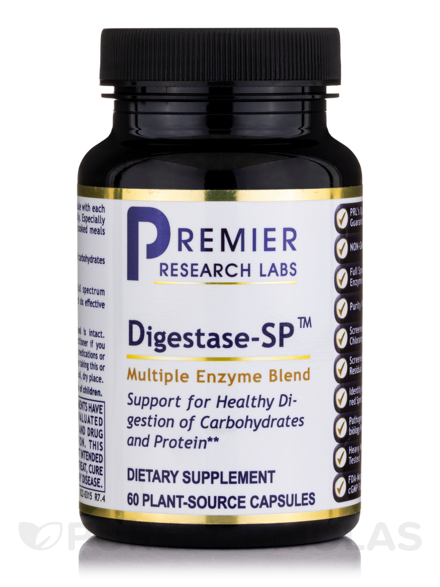 Digestase-SP™ - 60 Plant-Source Capsules