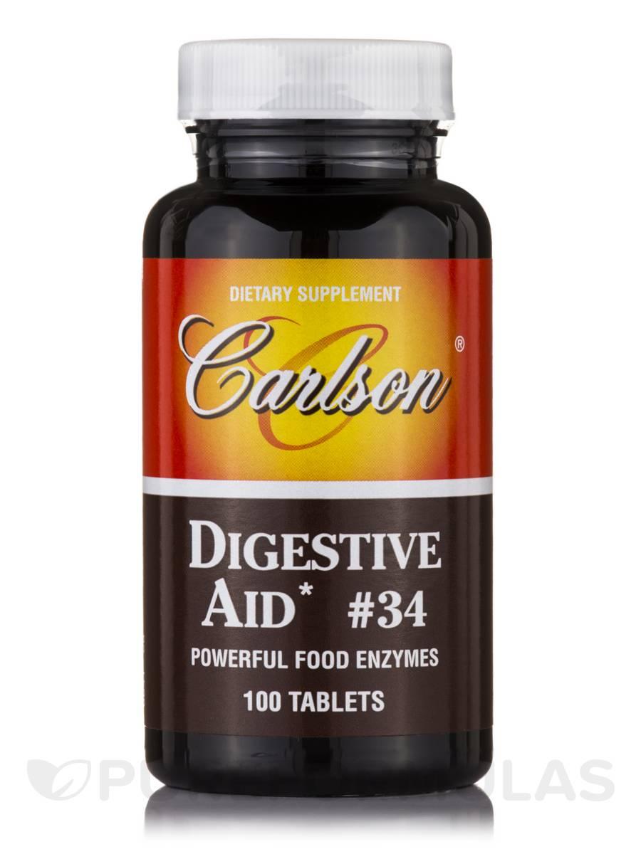Digestive Aid # 34 - 100 Tablets