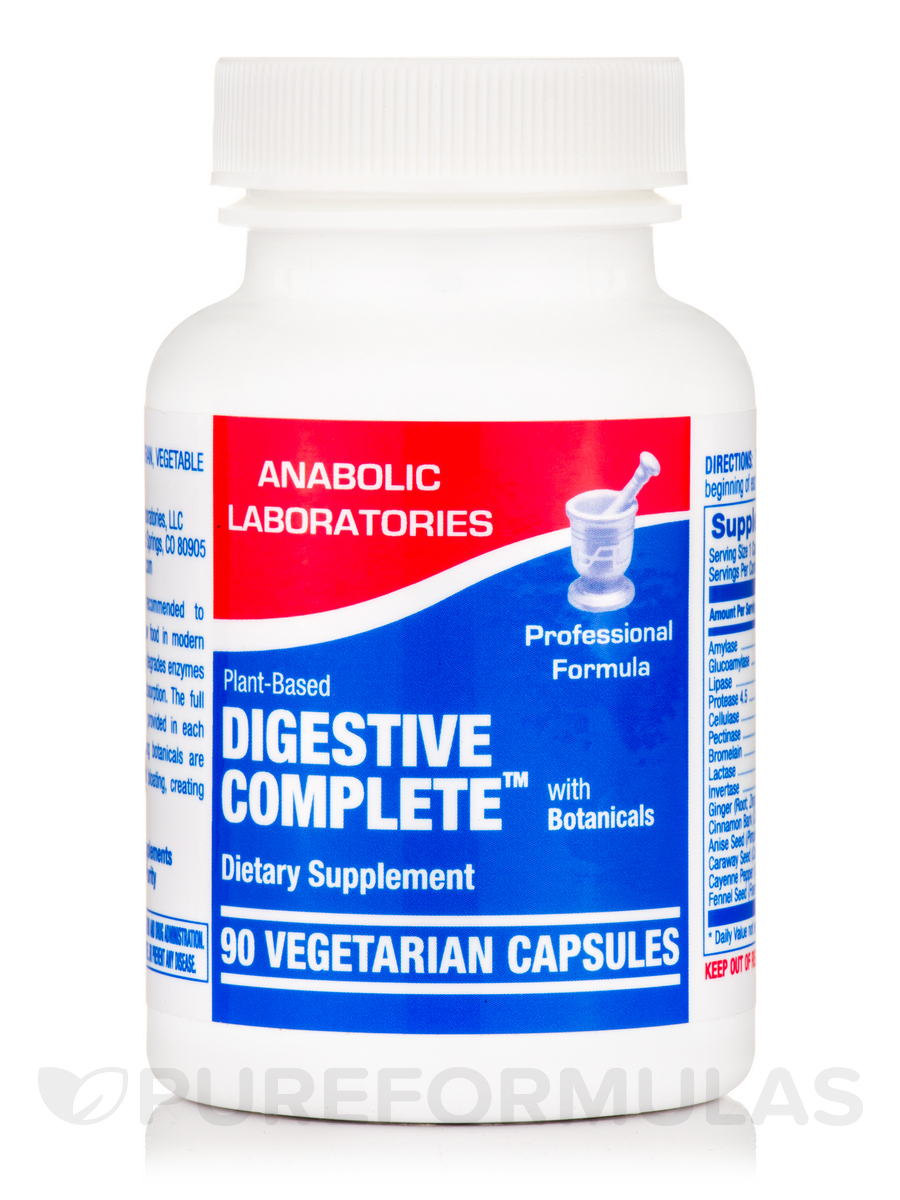 Digestive Complete™ (with Botanicals) - 90 Vegetarian Capsules