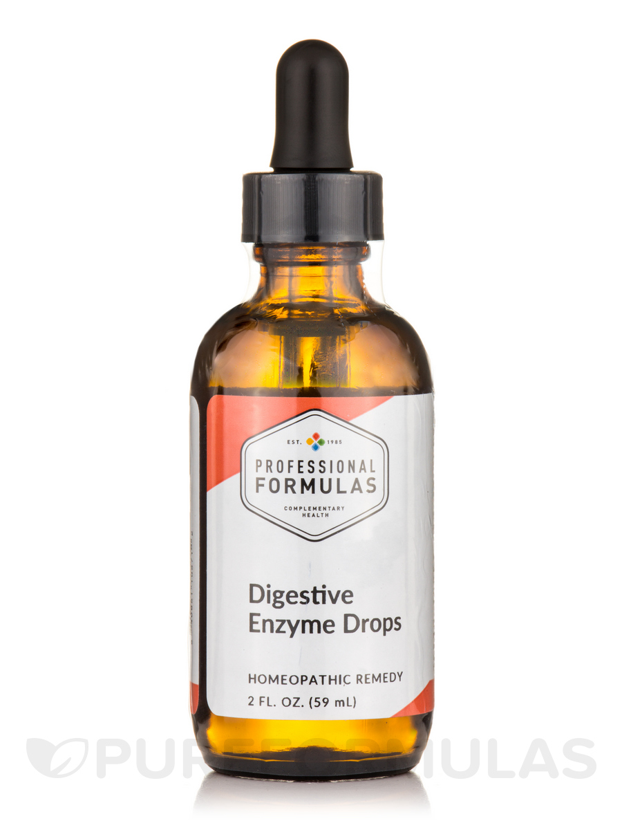 Digestive Enzyme Drops - 2 fl. oz (60 ml)