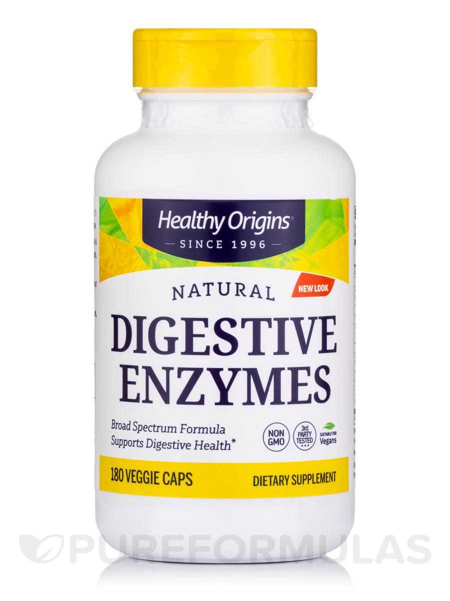 Digestive Enzymes Broad Spectrum - 180 Veggie Capsules