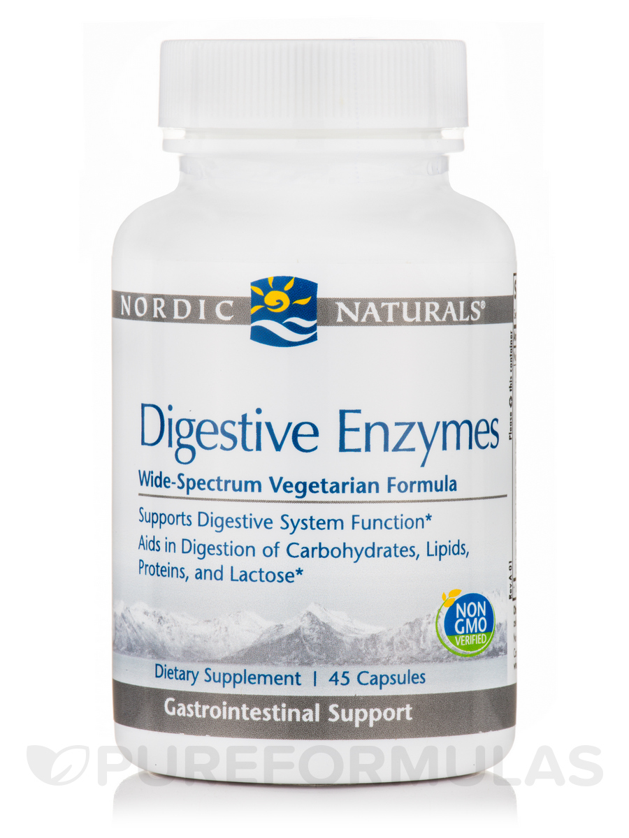 Digestive Enzymes - 45 Capsules