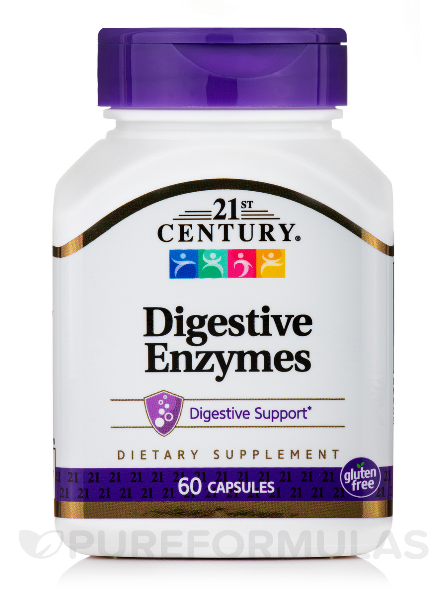 Digestive Enzymes - 60 Capsules