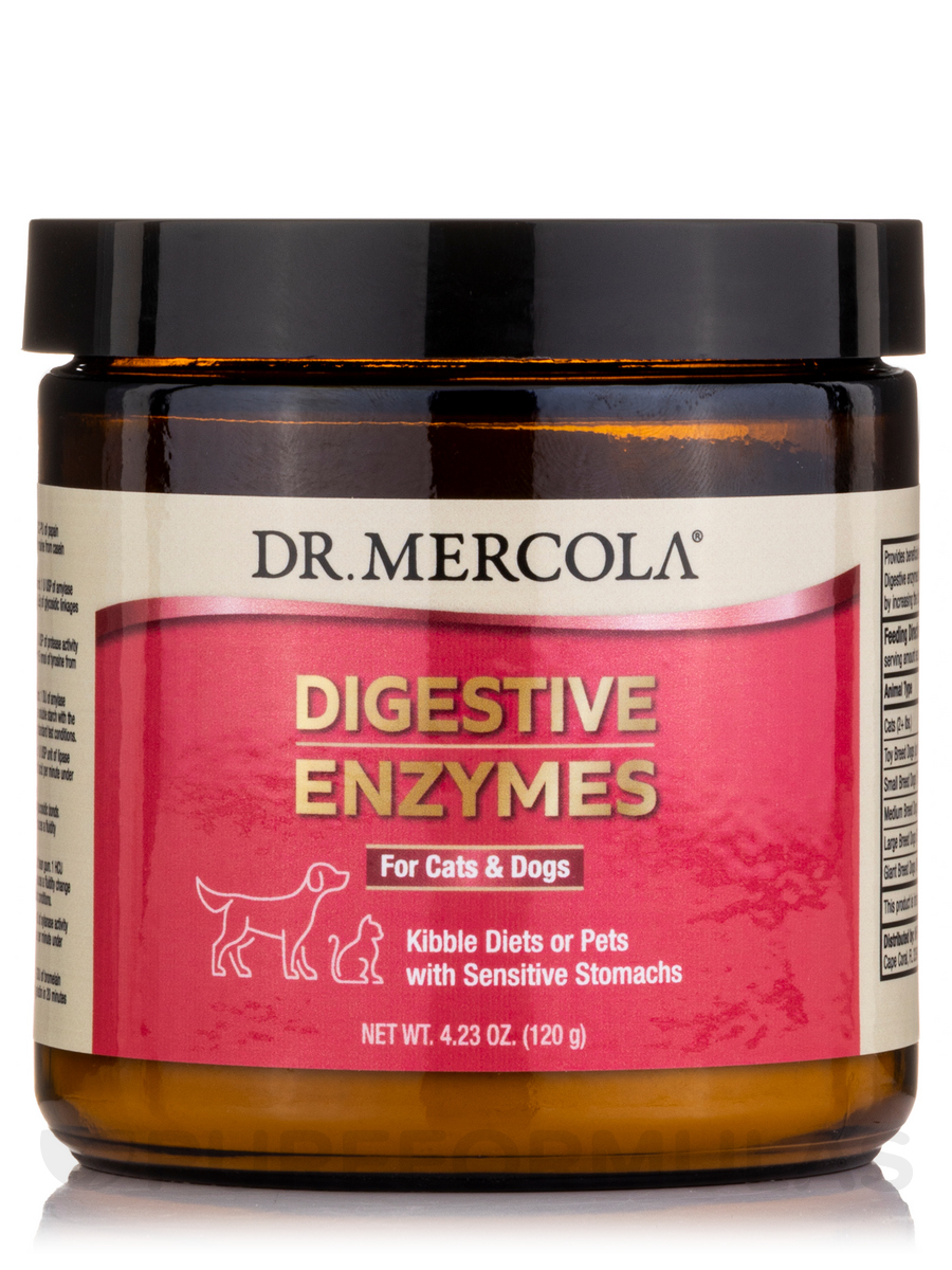 Digestive Enzymes for Cats & Dogs - 5.29 oz (150 Grams)