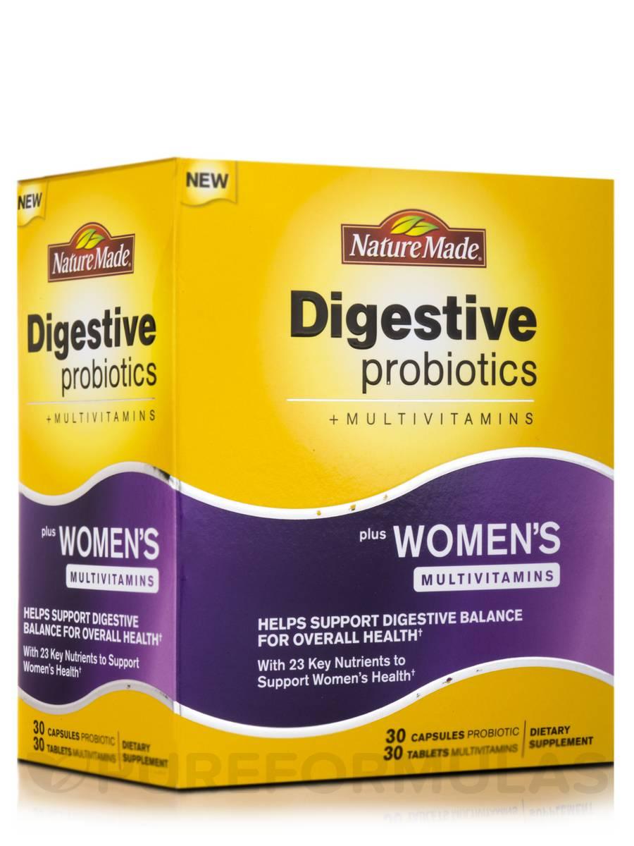 Nature Made Digestive Probiotics Women S Multivitamins