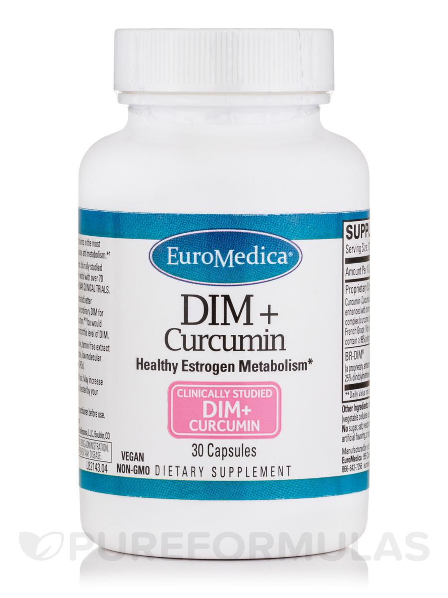 DIM + Curcumin - 30 Capsules