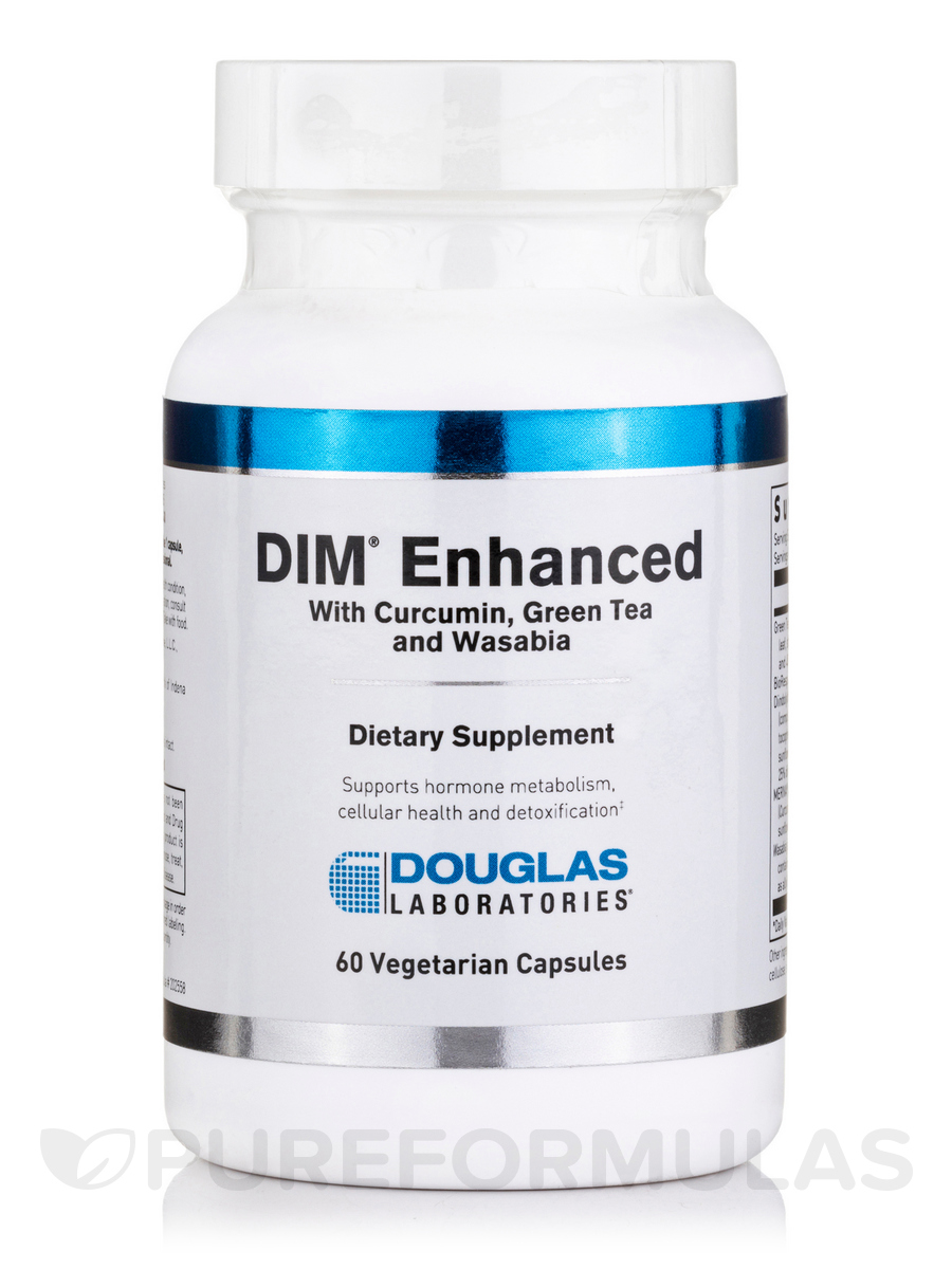 DIM® Enhanced - 60 Vegetarian Capsules